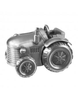 Sparebøsse - Traktor Fortinnet