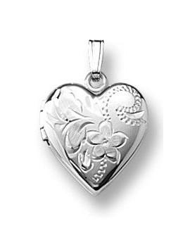 Medaljon 925 38 cm kæde