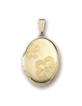 Medaljon Påvalset Guld m/...