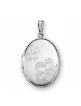Medaljon 925 m/ 45cm kæde