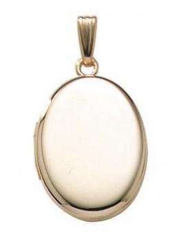 Medaljon Påvalset Guld 45 cm