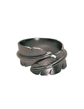 Fjer - Oxideret ring
