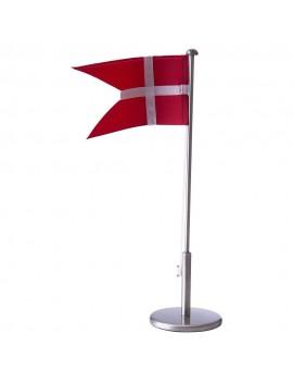 FORTINNET FLAGSTANG 40CM M/ DÅBSFOD