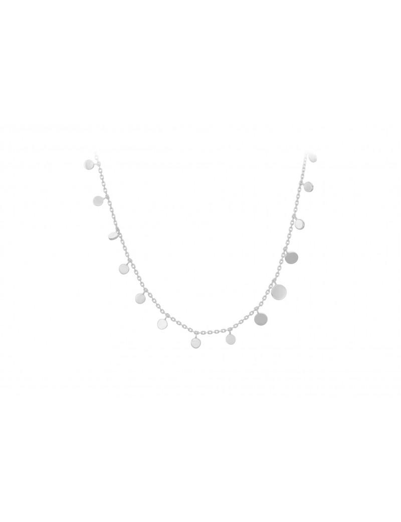 Sheen halskæde i sølv