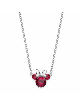 Sølv halskæde med Minnie...