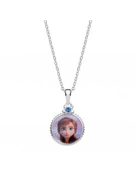 Sølv halskæde med Anna. -...