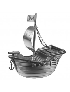 Sparebøsse - Sørøverskib Fortinnet