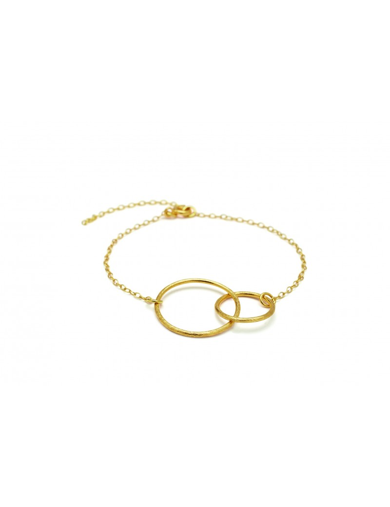 Double Plain Bracelet