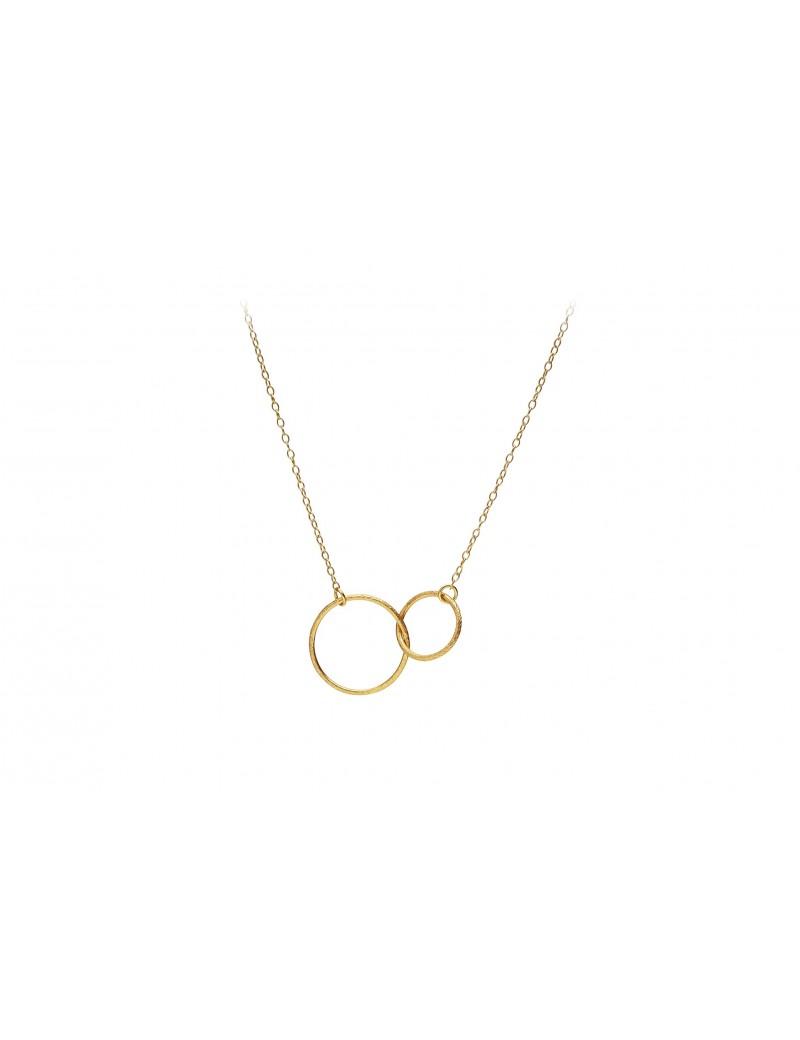 Double Plain Necklace