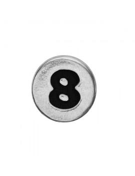 8 , Silver