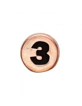 3 , Rose Goldpl Silver