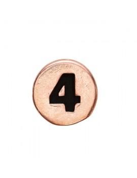 4 , Rose Goldpl Silver