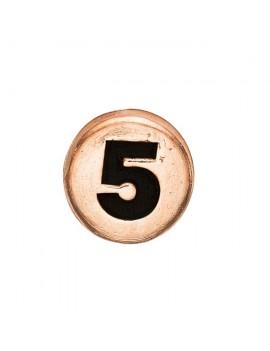 5 , Rose Goldpl Silver