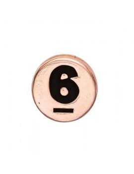 6 , Rose Goldpl Silver