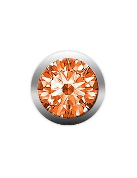 Collect Orange Sapphire Large